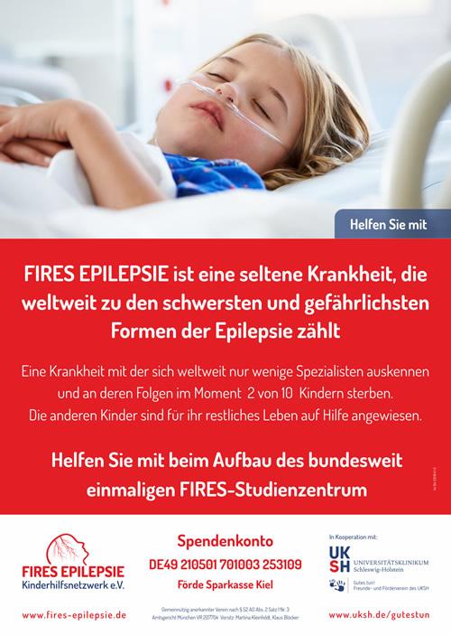 Infoplakat Nr. 1 (500px) FIRES EPILEPSIE Kinderhilfsnetzwerk e.V.